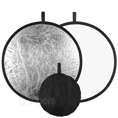 2in1 Collapsible Reflector 110cm FreePower