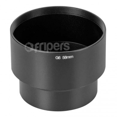 Adapter 58mm for Canon G6 FreePower