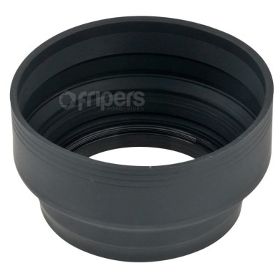 Collapsible Silicone Lens Hood 55mm 3in1 FreePower
