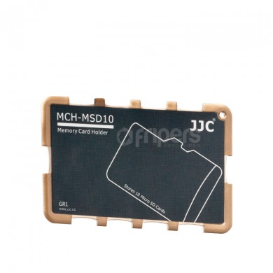 Cover for memory cards JJC APKP-JC-MCHMSD10GR for micro SD cards