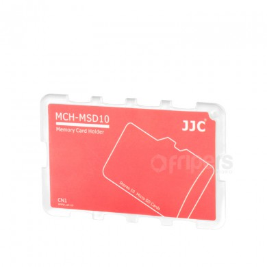 Cover for memory cards JJC MSD10CN for micro SD cards