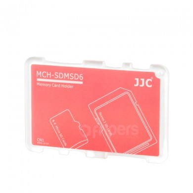 Cover for memory cards JJC SDMSD6CN for SD and micro SD cards