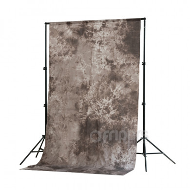 Crushed Muslin Backdrop FreePower 1,5 x 3m cotton made