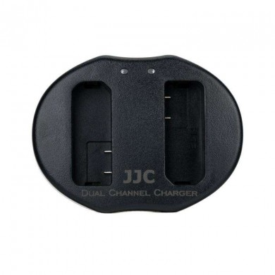 Double charger JJC Dual USB for EN-EL14, EN-EL14a batteries