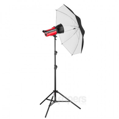 Flash lighting kit Aurora Orion 200 Umberella with umbrella and light stand