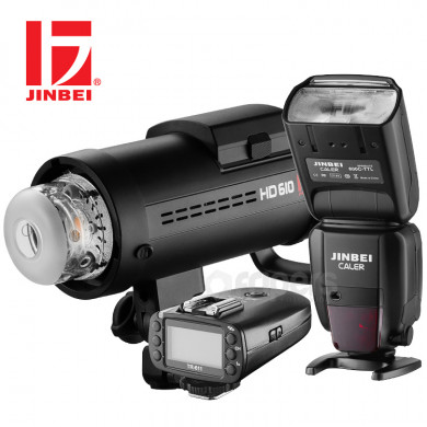 Flash lighting kit Jinbei OUTDOOR TTL with Speedlight and Monolight