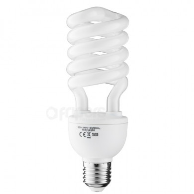 CFL Bulb FreePower 45W colour temperature 5500K