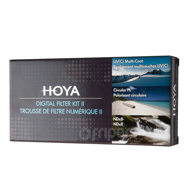 HOYA Digital Filter KIT HOYA UV (C), CIR-PL, ND8 55mm