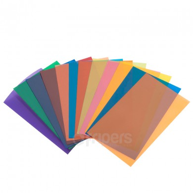 Kit of colour gel filters FreePower FD13 12 pcs