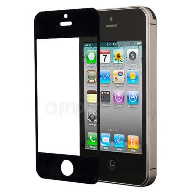 LCD cover for iPhone 5 black glass glue free montage FreePower