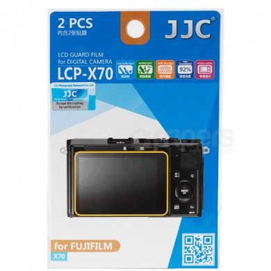 LCD guard film JJC Fujifilm X70 polycarbonate