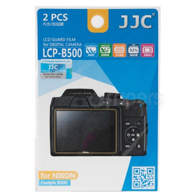 LCD guard film JJC Nikon Coolpix B500 polycarbonate