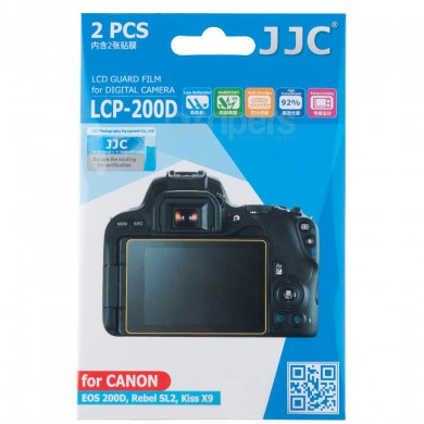 LCD protector JJC LCP-200D polycarbonate