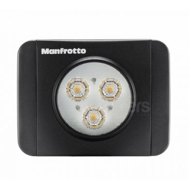 LED light Manfrotto Lumimuse 3 diodes + filters