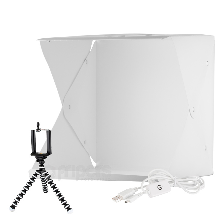 LED Light tent with dimmer