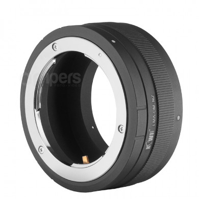 Lens Converter JJC with Nikon Z Body Mount for Olympus OM Lenses