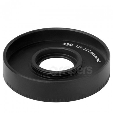 Lens hood type EW-43 for CANON EF-M 22mm f/2 STM JJC LH22 for Canon EF-M 28mm
