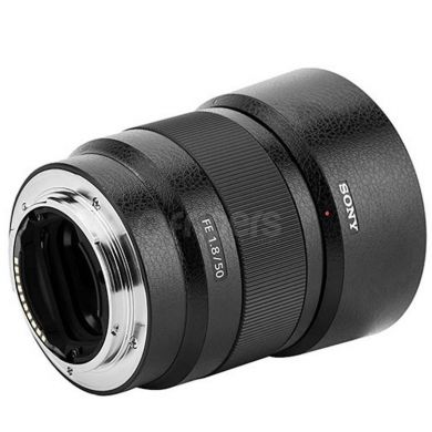 Lens Protective Film JJC KS-SEL50F18FL Leather for Sony FE 50 mm f1.8