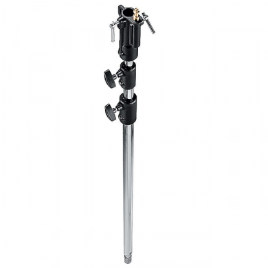 Light Stand Extension Pole Manfrotto 146CS Chrome, 137-314 cm