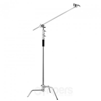 Light stand Freepower CK330R128 with boom
