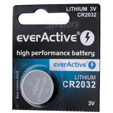 Lithium Battery everActive 2032 3V