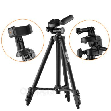 Photo Tripod Camrock TA10 Black Mobile Kit