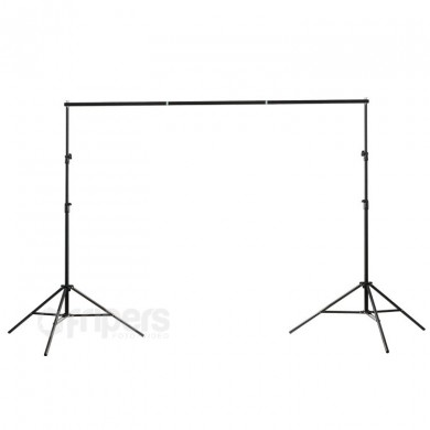 Portable background support kit FreePower H30 height 240cm, with cover