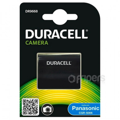 Rechargeable Battery Duracell CGA-S006 for Panasonic