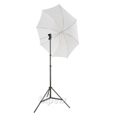 Reporter Kit FreePower (BPL) Umbrella, bracket, light stand