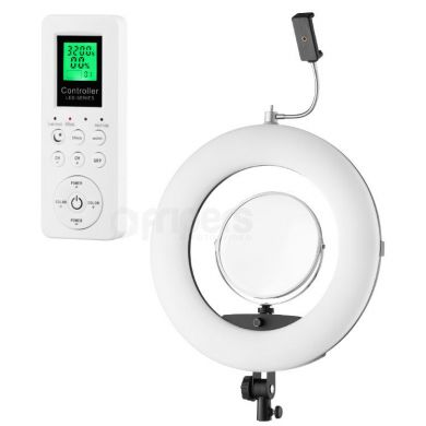 Ring lamp 96W FreePower FE480 brightness and colour temp. adj.