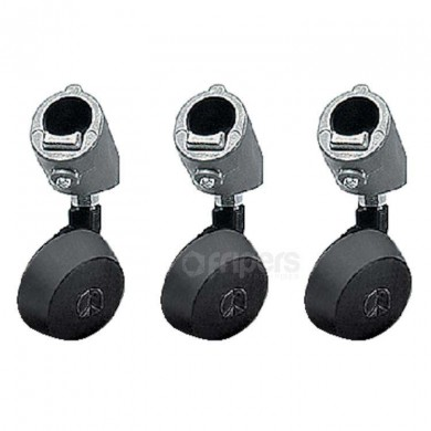 Set of 3 wheels Manfrotto 22mm