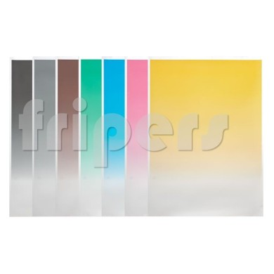 Set of 7 gradient cardboard backgrounds FreePower
