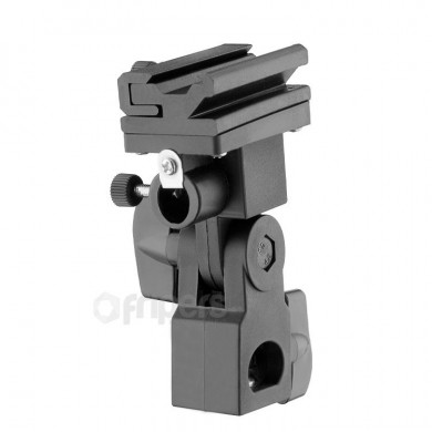 "Shoe Mount Adapter with Umbrella Holder FreePower FreePower ""B"" Plastic with Umbrella Holder"