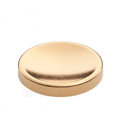 Shutter button JJC SRB Glued Gold, concave