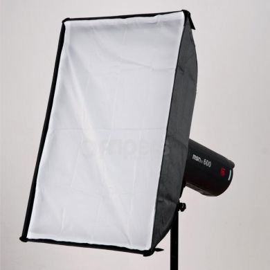 Softbox FreePower 50x70cm OUTLET bowens, double diffuser
