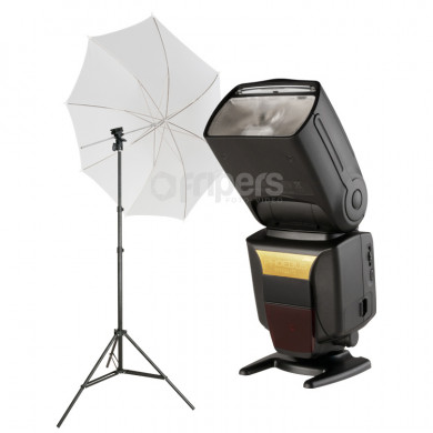 Strobbist Kit PHOEBUS 600 KIT light stand, holder, umbrella