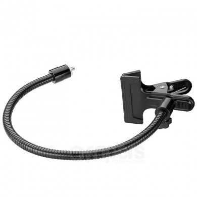 "Universal clip FreePower with flexible arm and 1/4"" screw"