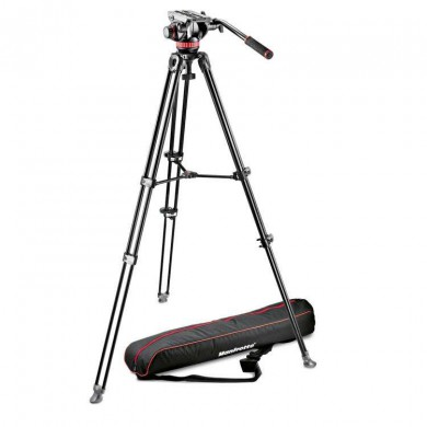 Video tripod Manfrotto MVK502AM-1 with head MVH502A