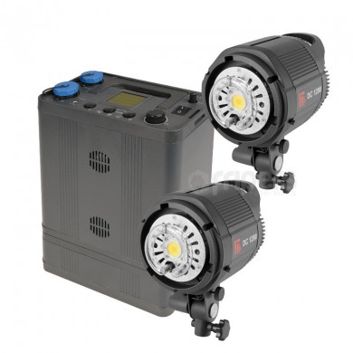 Outdoor lighting kit Jinbei Discovery II 1200 2xPRO