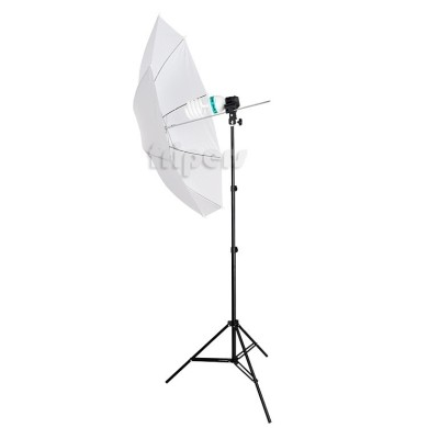 Reporter's set FreePower E27 + 65W (light stand, holder, umbrella)
